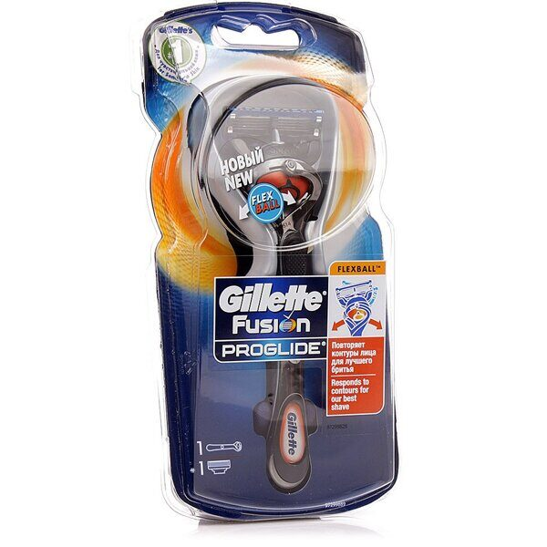 Станок Gillette Fusion ProGlide Flex Ball +1 кассета