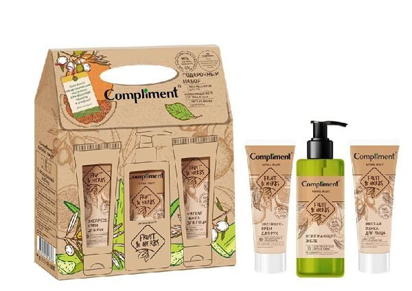 Набор Compliment Natural Beauty fruit&herbs №1890